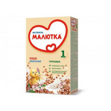 """Каша """"Малютка"""" молочная гречневая 1 (220 г)"""