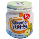 "Пюре ""ФрутоНяня"" яблоко (6 х 100 г)"