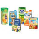 В данной категории представлены детские соки и нектары различных производителей.