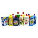В данной категории представлены моющие средства для посуды отечественного и импортного производства.