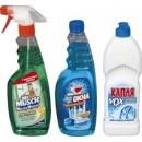 В данной категории представлены отечественные и импортные средства для мытья стекол и зеркал.