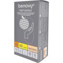 Перчатки латексные опудренные Benovy М (100 шт.)