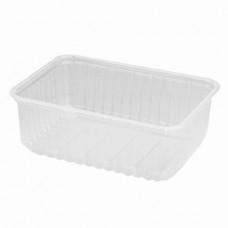 Контейнер пластиковый пищевой 1 л с крышкой (100 шт.)