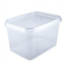 Контейнер пластиковый пищевой 500 мл с крышкой (100 шт.)