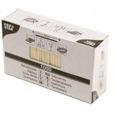 Зубочистки в индивидуальной упаковке (1000 шт.)