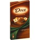 """Шоколад """"Dove"""" молочный с цельным фундуком (90 г)"""