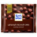 "Шоколад ""Ritter Sport"" молочный с фундуком (100 г)"