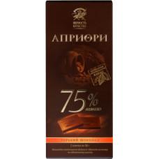 """Шоколад """"Априори"""" 75% какао (100 г)"""