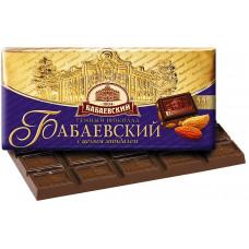 """Шоколад """"Бабаевский"""" темный с миндалем (100 г)"""