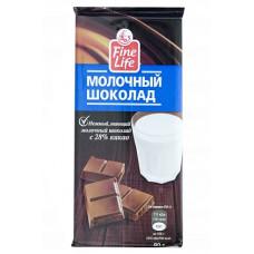 """Шоколад """"Fine Life"""" молочный (90 г)"""