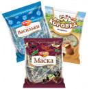 В данной категории представлены фасованные конфеты в пакетах.