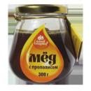 """Мед с прополисом """"Балтик голд"""" (350 г)"""