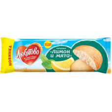 """Печенье """"Любятово"""" лимон и мята (250 г)"""
