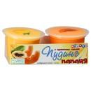 """Пудинг фруктовый """"Melada"""" манго и папайя (2 х 118 г)"""