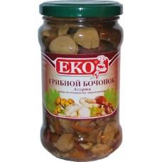 """Грибы маринованные """"Эко"""" Грибной бочонок (580 г)"""