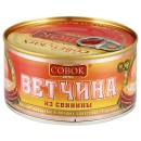 """Ветчина консервированная """"Совок"""" свинина (325 г)"""