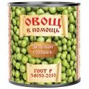 """Горошек зеленый """"Овощ в помощь"""" (410 г)"""
