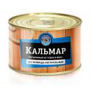 """Кальмар натуральный """"Морская держава"""" (230 г)"""