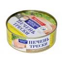 """Печень трески """"Моской котик"""" (230 г)"""