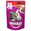 """Корм для кошек """"Whiskas"""" рагу говядина с овощами (24 х 85 г)"""