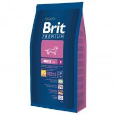 """Корм сухой для собак мелких пород """"Brit"""" Adult S (3 кг)"""