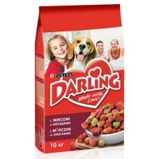 """Корм сухой для собак всех пород """"Darling"""" с мясом и овощами (10 кг)"""