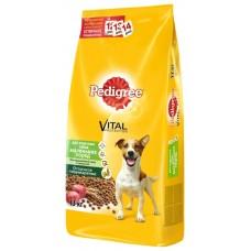 """Корм сухой для собак маленьких пород """"Pedigree"""" с говядиной (2,2 кг)"""
