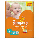 Подгузники Pampers Sleep & play 3 (4-9 кг) (78 шт.)