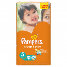 Подгузники Pampers Sleep & play 5 (11-18 кг) (58 шт.)
