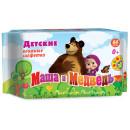 """Влажные салфетки детские """"Маша и Медведь"""" (64 шт.)"""
