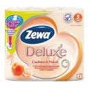 "Туалетная бумага ""ZEWA Deluxe"" персик 3-слойная (8 рул.)"