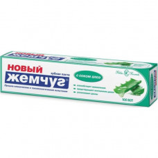"""Зубная паста """"Новый жемчуг"""" с соком алоэ (100 мл)"""