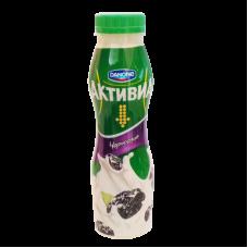 """Йогурт питьевой """"Активиа"""" чернослив 2% (260 г)"""