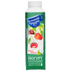 """Йогурт """"Большая кружка"""" питьевой вишня-черешня (350 г)"""