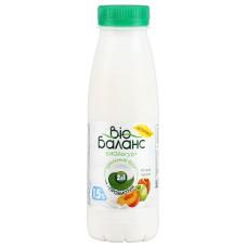 """Йогурт питьевой """"Bio Баланс"""" яблоко-персик 1,5% (330 г)"""