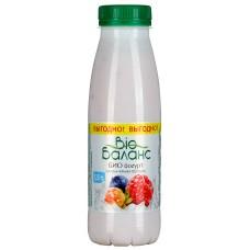 """Йогурт питьевой """"Bio Баланс"""" малина-черника-клюква-морошка 1,5% (330 г)"""