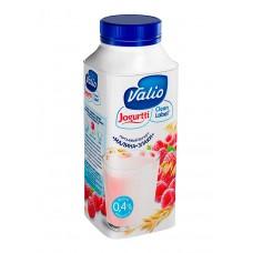 """Йогурт питьевой """"Valio"""" малина и злаки 0,4% (330 г)"""