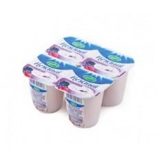 """Йогурт """"Campina"""" лесные ягоды 1,2% (4 х 100 г)"""