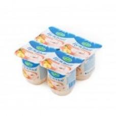 """Йогурт """"Campina"""" персик 1,2% (4 х 100 г)"""