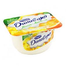 """Йогурт творожный """"Даниссимо"""" манго - апельсин 5,4% (130 г)"""