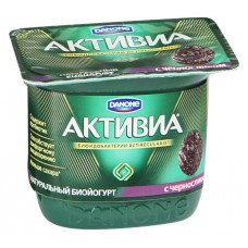 "Йогурт ""Активиа"" чернослив (150 г)"