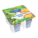 "Йогурт ""Alpenland"" киви-крыжовник/ананас 0,3% (4 х 95 г)"
