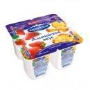 "Йогурт ""Alpenland"" клубника/ананас 7,5% (4 х 95 г)"