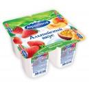 "Йогурт ""Alpenland"" клубника/персик-маракуйя 0,3% (4 х 95 г)"