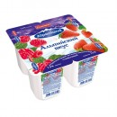 "Йогурт ""Alpenland"" малина/клубника 7,5% (4 х 95 г)"
