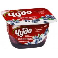 """Йогурт творожный """"Чудо"""" черника (100 г)"""