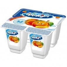 """Йогурт """"Фругурт"""" персик 2,5% (4 х 100 г)"""