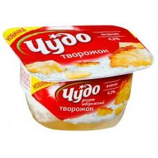 """Йогурт творожный """"Чудо"""" ананас (100 г)"""