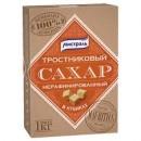"""Сахар рафинад тростниковый кубик """"Мистраль"""" коричневый (1 кг)"""