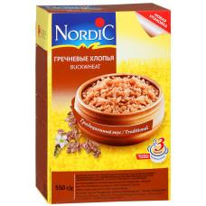 """Гречневые хлопья """"Nordic"""" (550 г)"""
